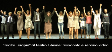 """""""Teatro Terapia"""": Incontra Donna Onlus al Teatro Ghione"""