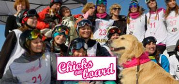 IncontraDonna ha partecipato a Chicks on Board il 28 febbraio e 1 marzo 2015 a Campo Felice (AQ)