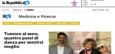 Rassegna Stampa Dancing With Health